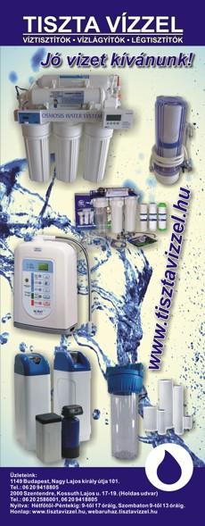 Csak tiszta vízzel, mert nem mindegy, mit iszik! - www.tisztavizzel.hu